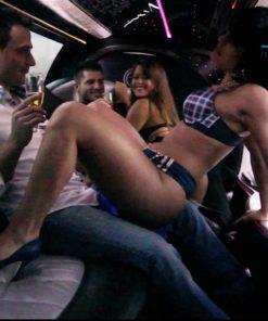 location striptease en limousine