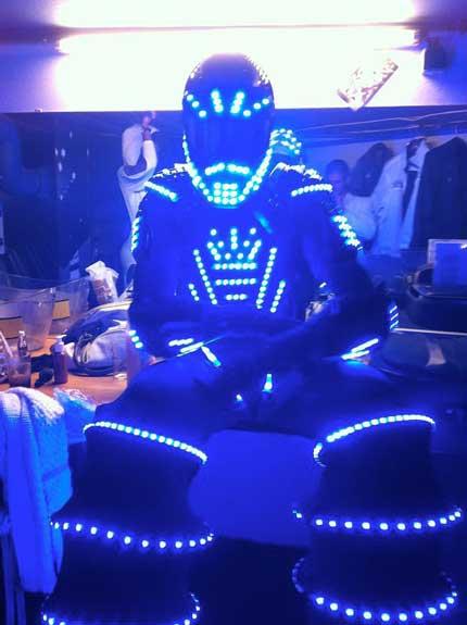 robot led Paris Marseille Lyon