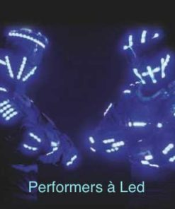 robots echassiers led lumineux performer
