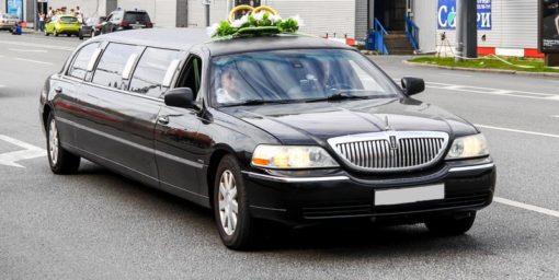 Lincoln Town Car Noire