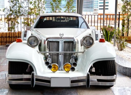 Location limousine Excalibur blanche