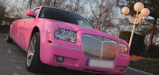 Chrysler 300C rose Franche-Comté