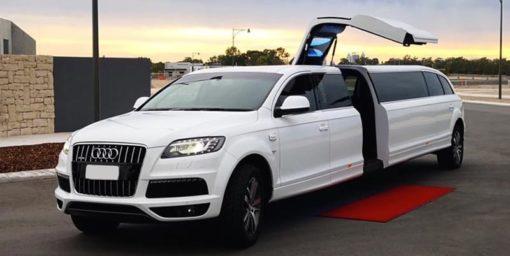 Limousine Audi Q7 blanc