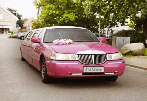 Lincoln Town Car rose